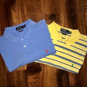 Bundle 2 - Polo by Ralph Lauren golf polo shirts